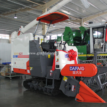 Multi-function crawler type combine rice harvester